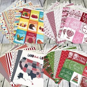 Authentique Paper 12x12 Scrapbook Cardmaking Kit